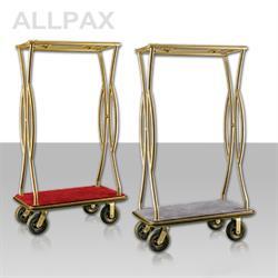Gepäck-Transportwagen - Platinium Goldfarben -