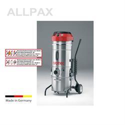 Hochleistungs-Industriesauger, treppengängig, 35 ltr. V2A Behälter