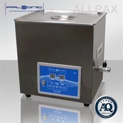 PALSSONIC Ultrasoon Reiniger 10 liter, RVS-Behuizing