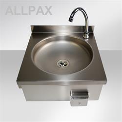 Handwaschbecken V2A mit Knieschalter