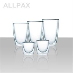 Glas - Serie LOUNGE - doppelwandig - verschiedene Ausführungen