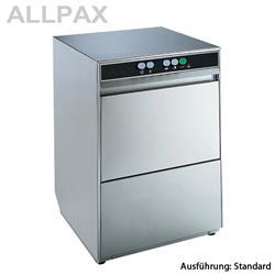 Gläserspülmaschine Allpax, Korbgröße 395 x 395 mm, 2 Waschprogramme
