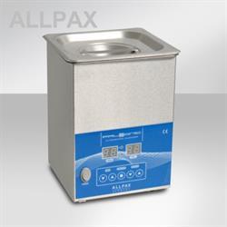 PALSSONIC Ultraschallreiniger, 2 Liter, Edelstahl-Gehäuse
