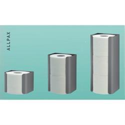 Halter für Toilettenpapier 2 Rollen