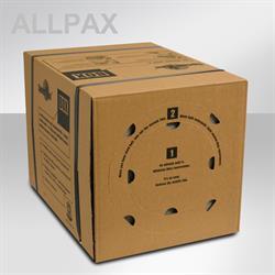 SpeedMan Box - Verpackungsmaterial,  450 Laufmeter, ca. 1,5 m³ Füllvolumen