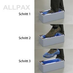 Automatischer Spender für Schuhhüllen