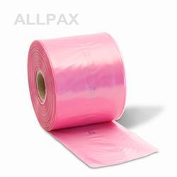 Pink Poly-Schlauchfolie