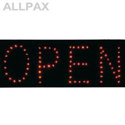 OPEN / CLOSED - rot - umschaltbar