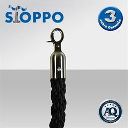 STOPPO Kordel schwarz,  150 cm