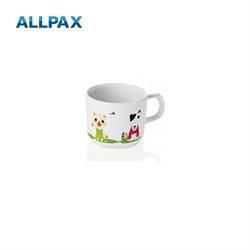 Melamin - Kindertasse Bär, Hund, Katze, Frosch