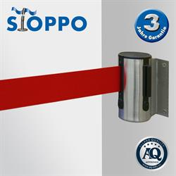 STOPPO afzetband voor muursysteem - trekband rood