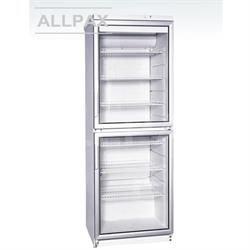 Glastürkühlschrank 350 Liter - 2 Türen