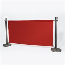 ALLPAX Café-Absperrung Set rot, 1,5 m