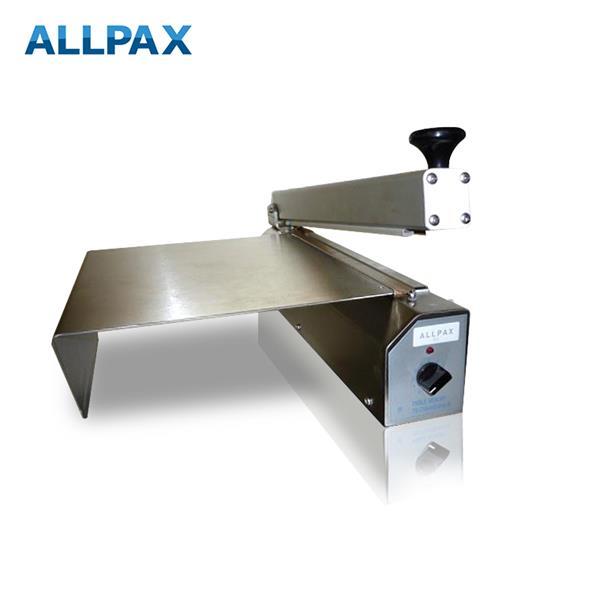 Tischschweißgerät in Edelstahl-Ausführung, verschiedene Schweißbalkenlängen