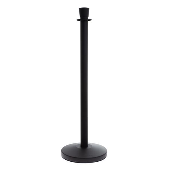 STOPPO Absperrständer Zylinder schwarz-matt