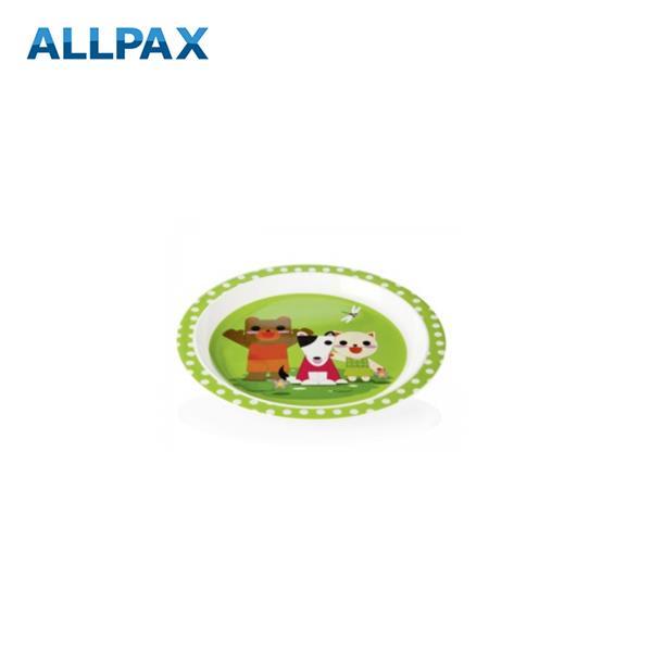 Melamin - Kinderteller Bär, Hund, Katze