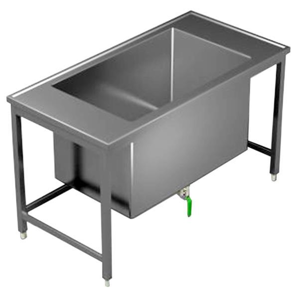Tauchbecken für Labor Länge 1500 mm