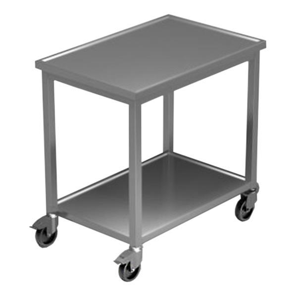 Rolltisch fahrbar mit Wulstrand