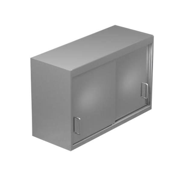Wandschrank  bedienseitig Schiebetüren  Höhe 760 mm