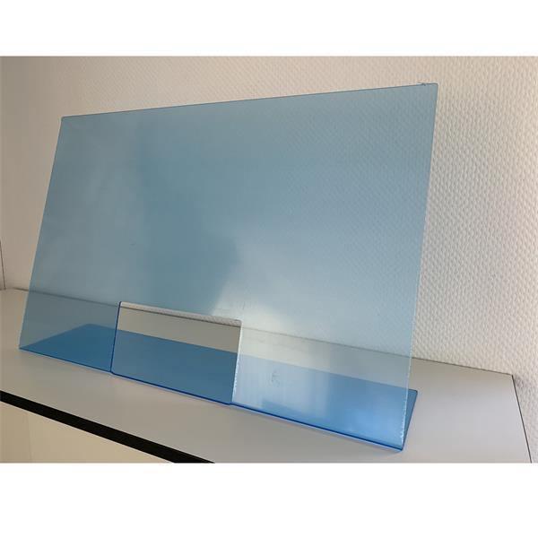 Hygieneschutz mit Durchreiche, 75 x 18 x 48 cm