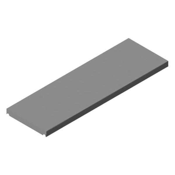 Standard Zwischenboden für Rollcontainer bedienseitig Flügeltüren, mit oder ohne Schublade