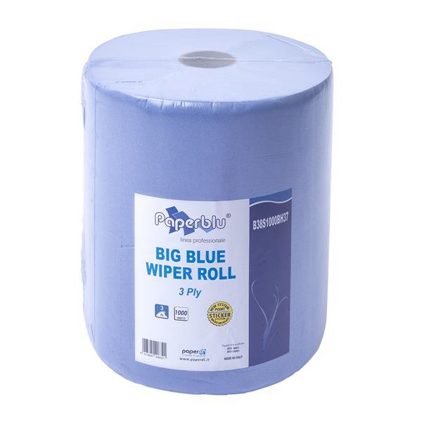 Putztuchrolle 3-lagig, blau