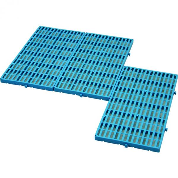 Bodenrost 60x30x2,5 cm, HDPE - blau