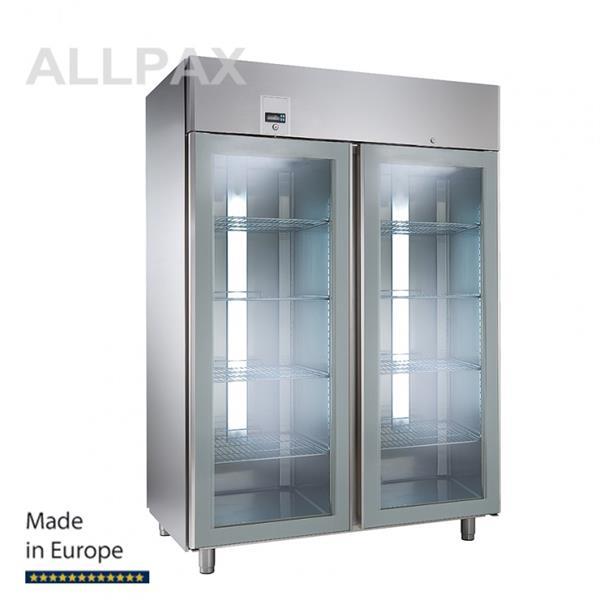 Glastür-Kühlschrank, 2 Türen