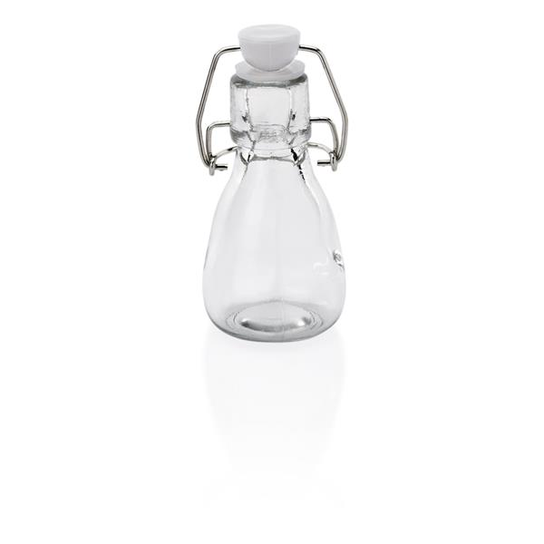Bügelverschlussflasche aus Glas Deckel mit Dichtung