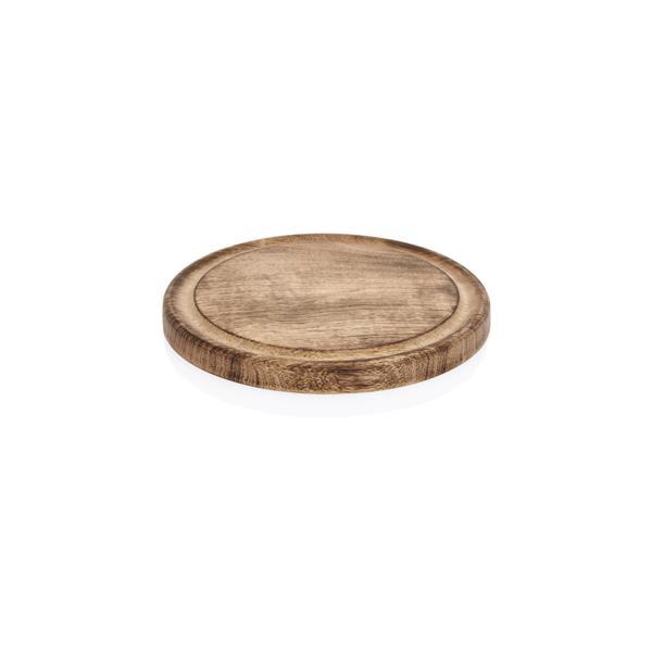 Holzbrett aus Mangoholz mit Saftrille