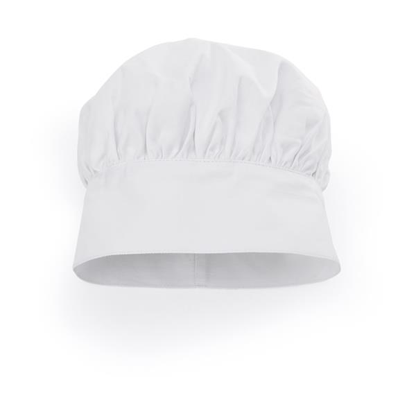 Kochmütze aus Baumwollemit Klettverschluss
