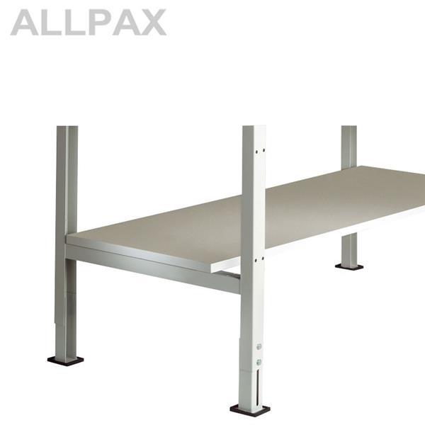 Zwischenboden für Tischbreite x Tiefe 1250 x 600 mm