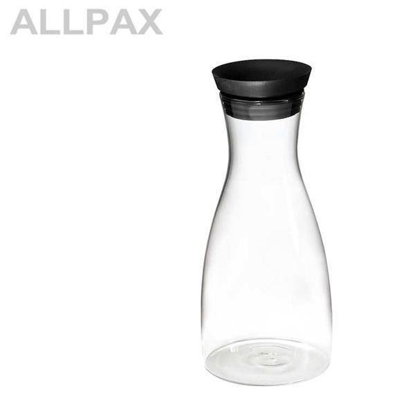 Glas-Karaffe Ø 9,5 cm, H: 29 cm - 1 Liter -