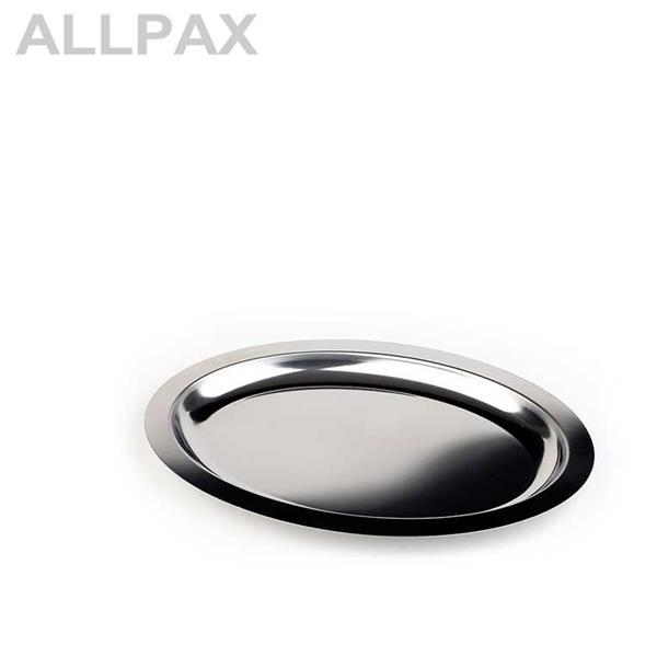 Tablett -FINESSE- oval, Edelstahl