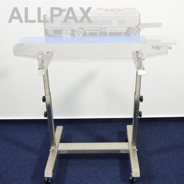 Untergestell für Durchlaufschweißgerät, höhenverstellbar