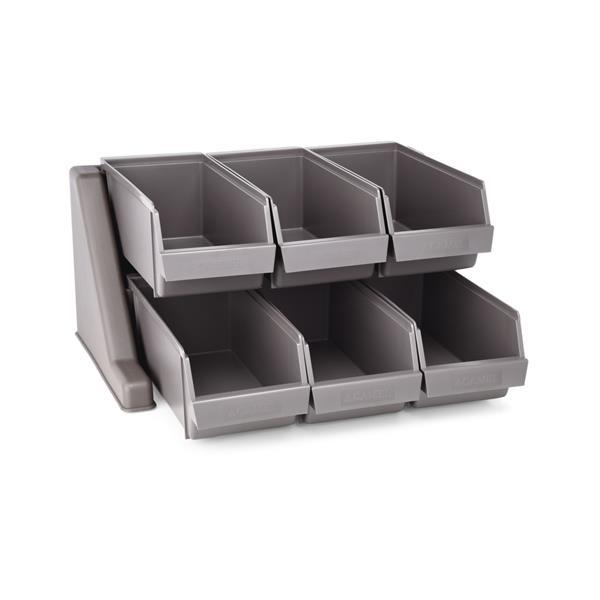 Stapelkasten mit Halterung aus Polyethylen