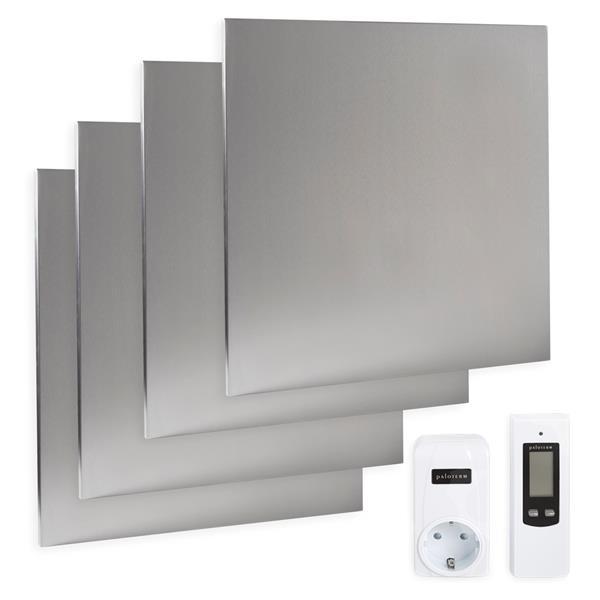 Komplettset Infrarotheizung 1400 Watt, inkl. Thermostat