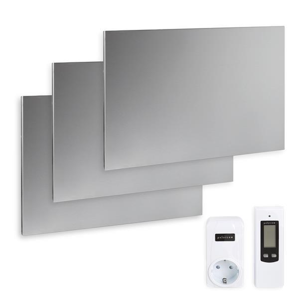 Komplettset Infrarotheizung 900 Watt, inkl. Thermostat