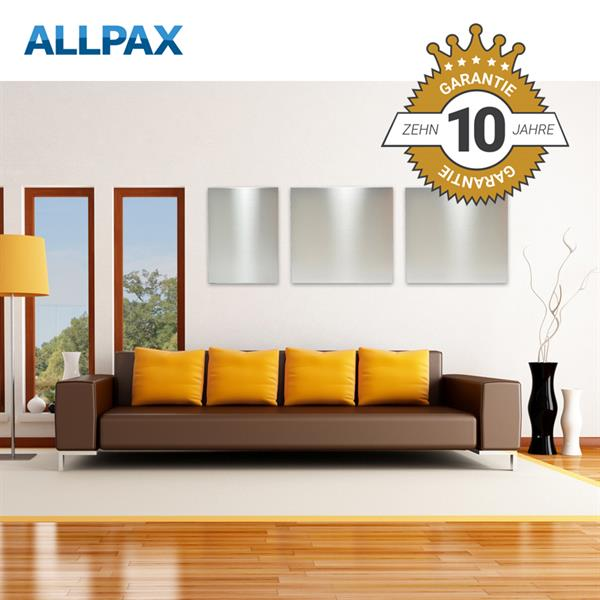 komplettset infrarotheizung 1000 watt inkl thermostat. Black Bedroom Furniture Sets. Home Design Ideas