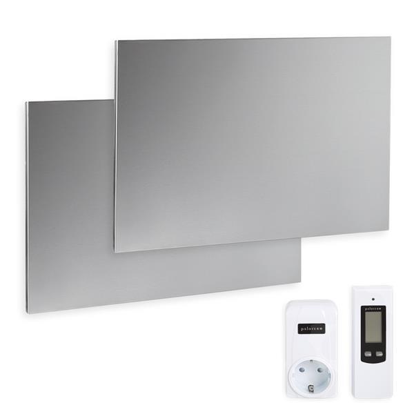 Komplettset Infrarotheizung 600 Watt, inkl. Thermostat
