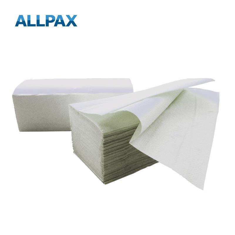 Handtuchpapier naturweiß, 2-lagig