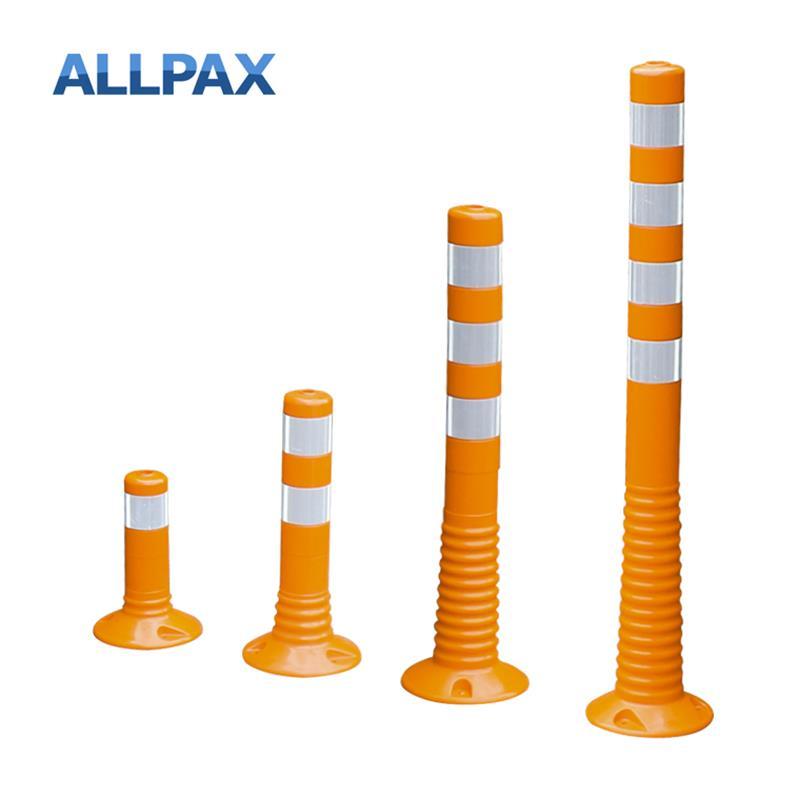Leitpfosten Flexipoller, orange, 80 mm Durchmesser