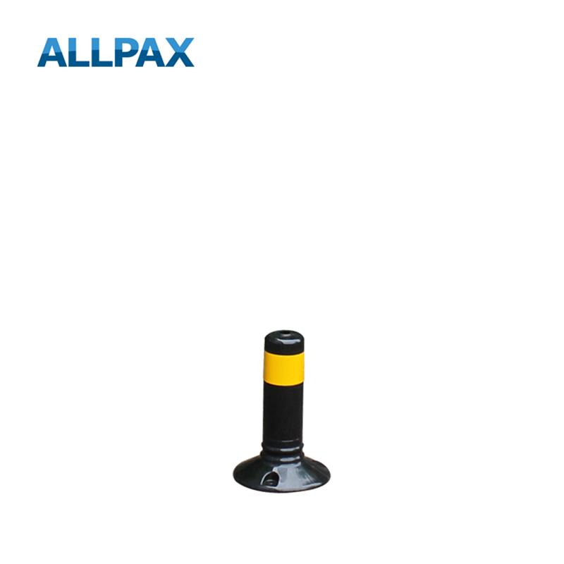 Leitpoller Flexipfosten, schwarz-gelb, 80 mm Durc