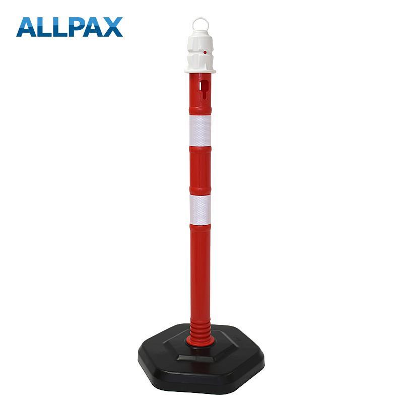 Kettenpfosten Multimax, rot oder rot-weiss