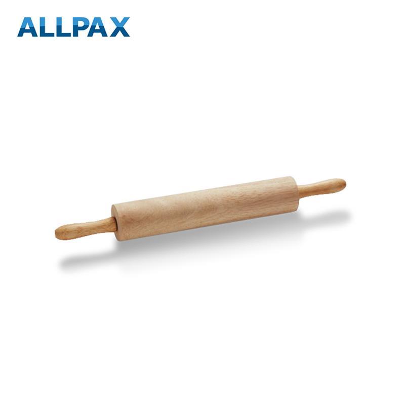 Holz-Teigrolle mit Kugellager, zwei Längen