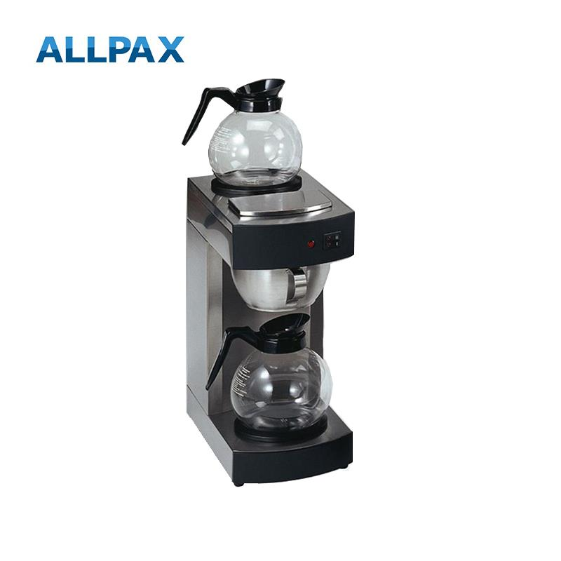 ALLPAX Filter-Kaffeemaschine + 2 Glaskannen