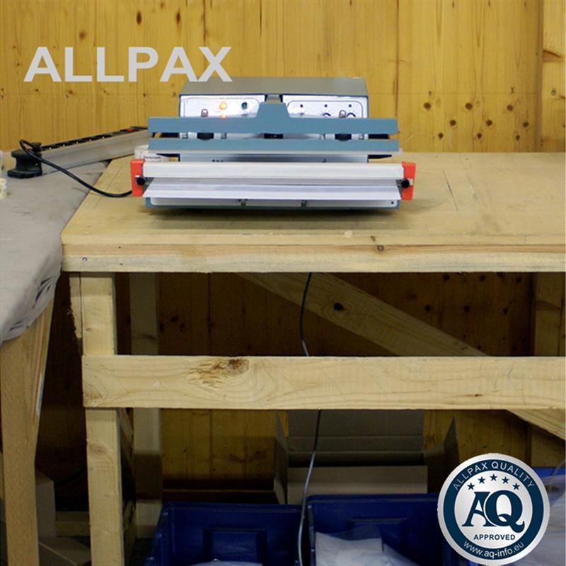 folie sealapparaat 600 met elektrisch bediend voetpedaal. Black Bedroom Furniture Sets. Home Design Ideas