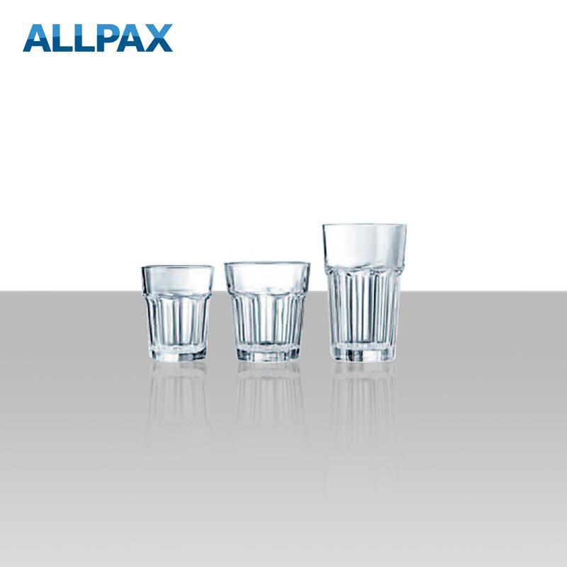 Trinkglas, gehärtet - Serie ONUSIA - 3 Ausführungen