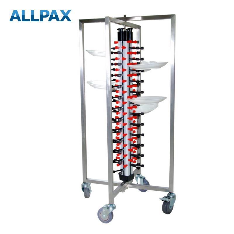 Tellerstapelsystem - Tellerwagen für 48 Teller