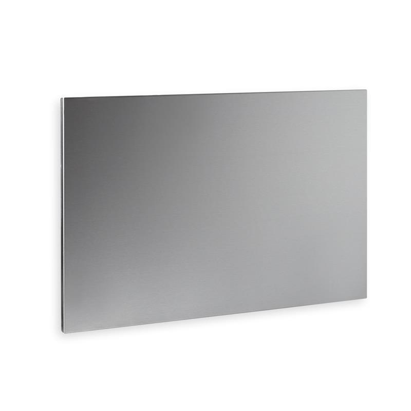 Infrarotheizung 300 Watt aus Edelstahl, 42 x 62 cm